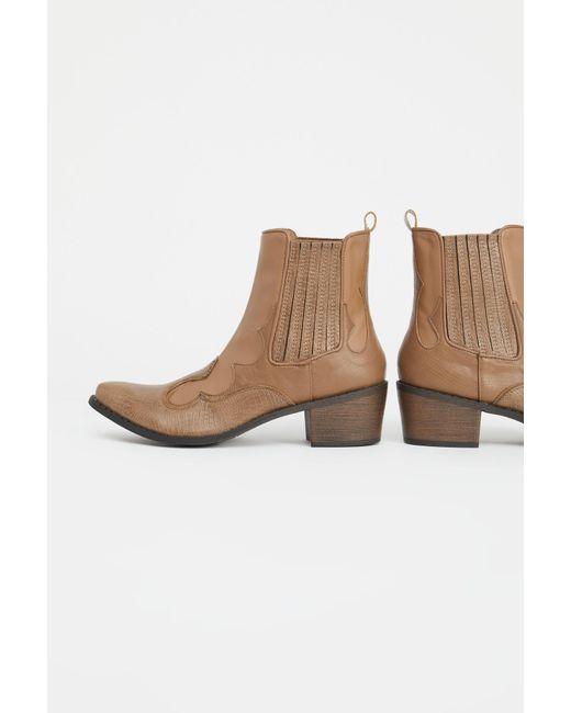 Free People - Brown Vegan Cavalier Boot By Matisse - Lyst