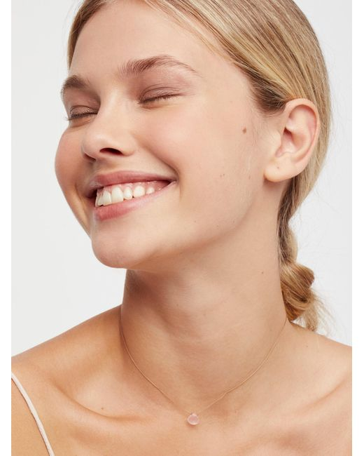 Free People - Natural Meaningful Stone Necklace - Lyst