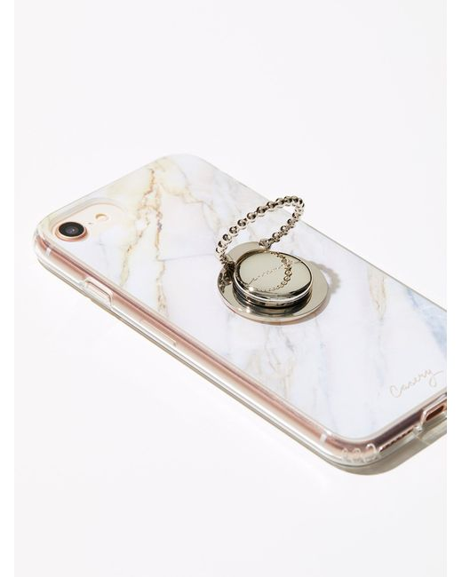 Free People | Metallic Ring Phone Grip | Lyst