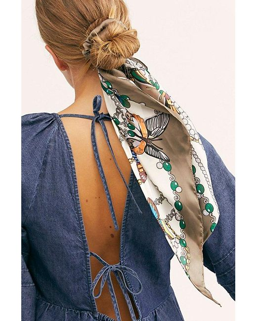 Free People Multicolor Dreamiest Scarf Pony