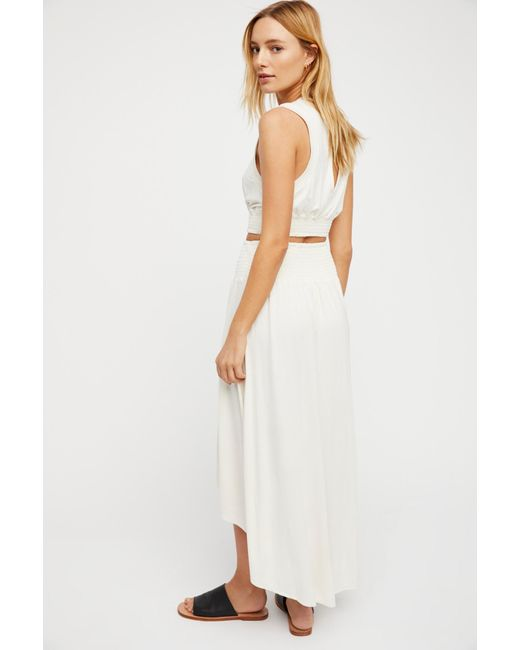 Free People White Morningside Set By Fp Beach