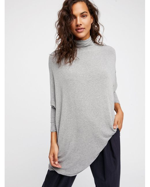 Free People - Gray We The Free Terry Tee - Lyst