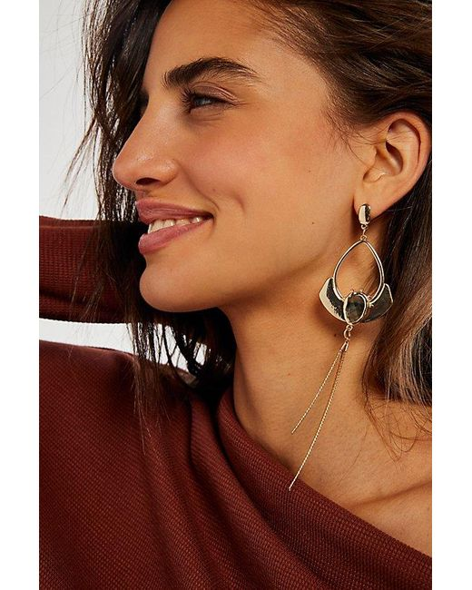 Free People Metallic Miller Recycled Earrings