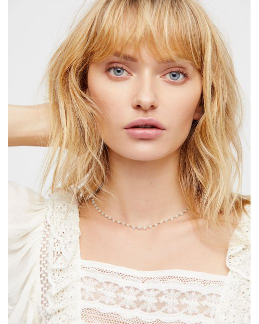 Free People | Natural Essential Stone Necklace | Lyst