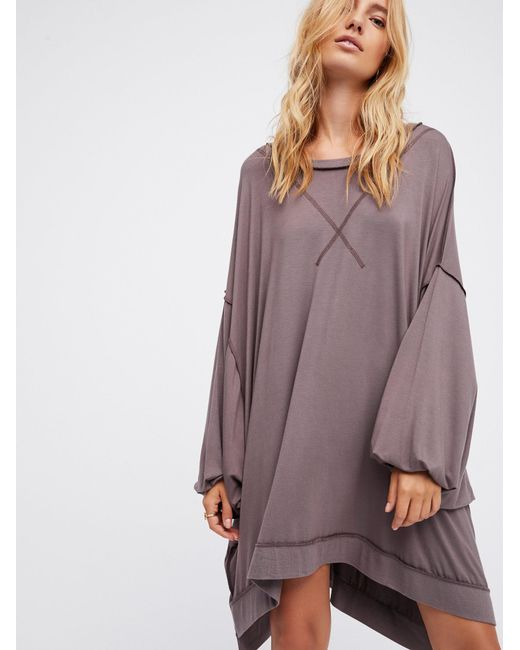 Free People | Multicolor We The Free So Smooth Tee | Lyst