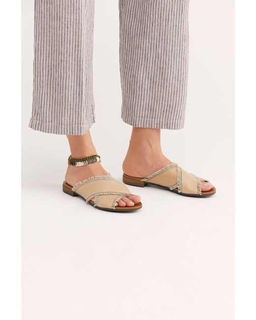 c22e6bcbb34b Free People - Multicolor Tate Slide Sandal By Bueno - Lyst ...