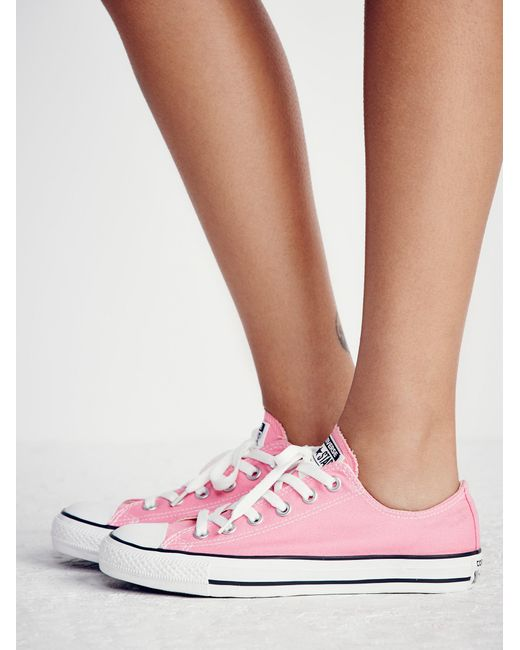 Free People - Pink Charlie Converse - Lyst