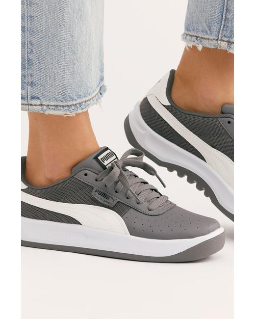 7cce648409f Free People - Black California Scratch Trainer By Puma - Lyst ...