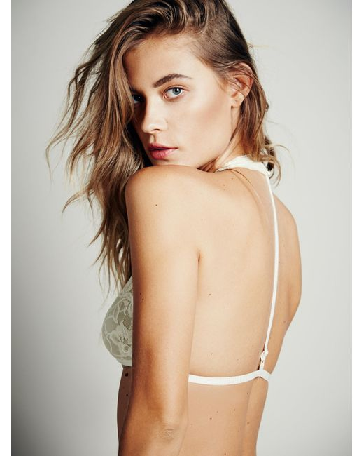 Free People | White Truly Madly Deeply Halter | Lyst