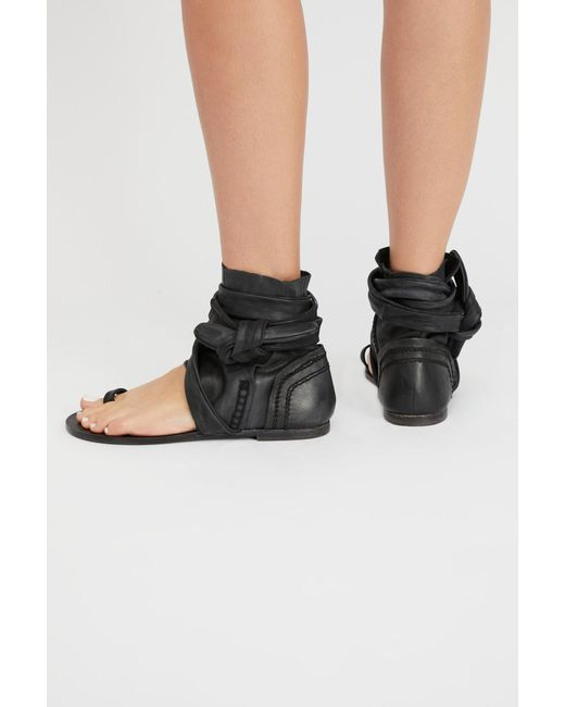 31e614b8c98 Free People - Black Delaney Boot Sandal By Fp Collection - Lyst ...