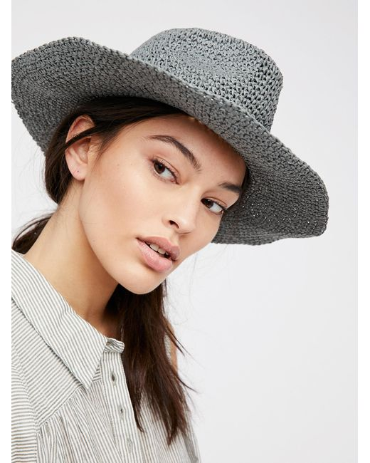 Free People | Multicolor Mellow Mood Packable Straw Hat | Lyst