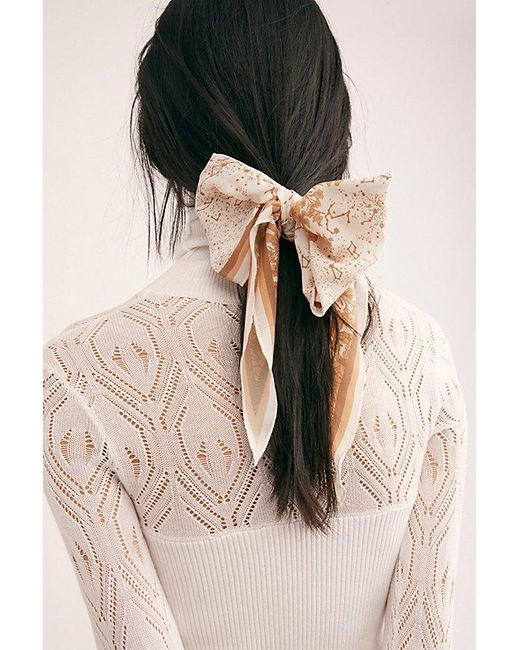 Free People Multicolor On The Road Scarf Pony