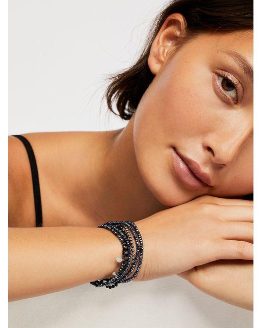 Free People - Black Serefina 7 In 1 Bracelet - Lyst