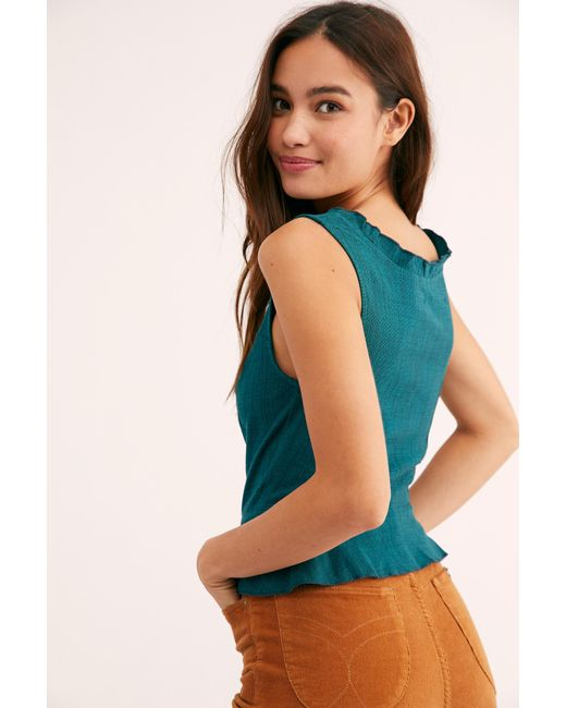 6ceb769d5d ... Free People - Blue Jolie Cami By Intimately - Lyst ...