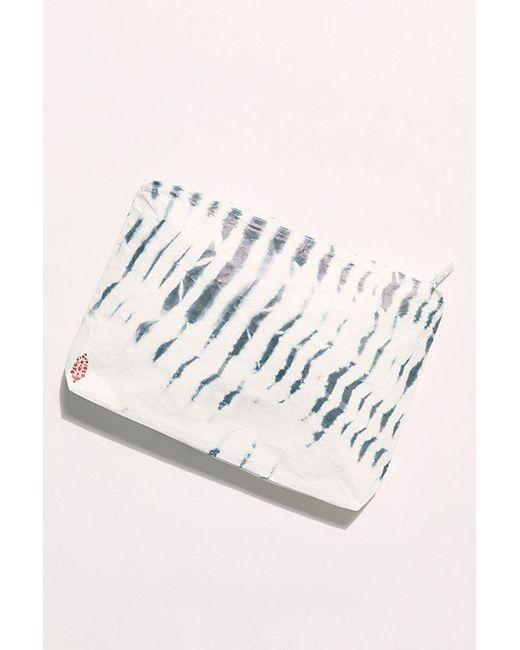 Free People Blue Fp Movement X Aloha Printed Mid Pouch