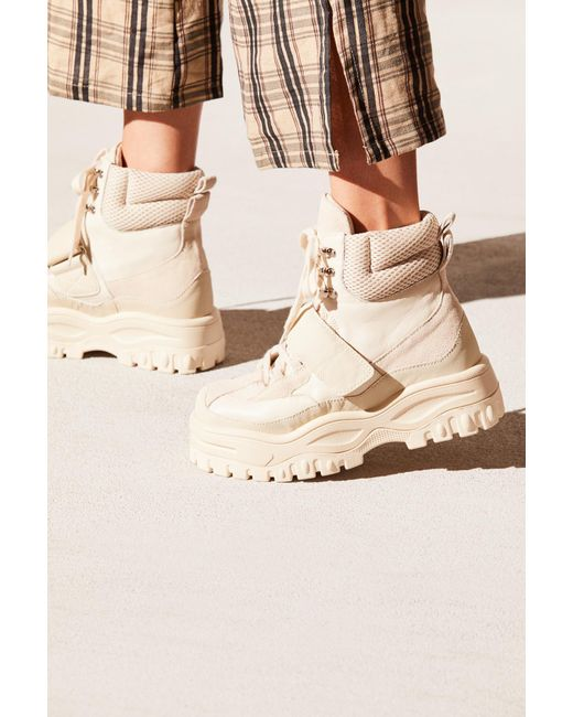 23184d569ed ... Free People - White Sugar And Spice Hi Top Sneaker By Jeffrey Campbell  - Lyst