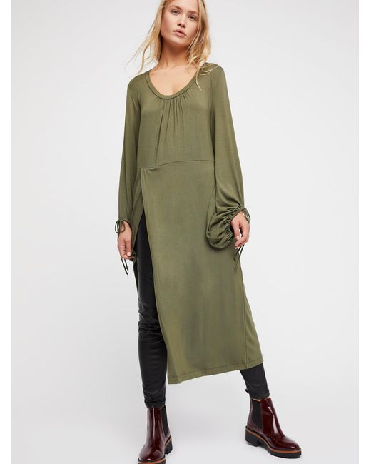 Free People | Green Constellation Tunic | Lyst