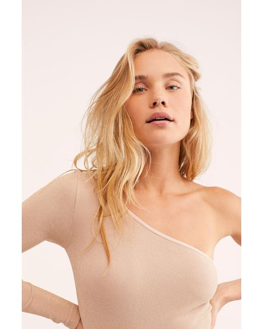Free People Multicolor After Dark Bodysuit By Intimately