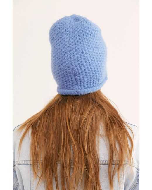 Women's Blue Dreamland Knit Beanie