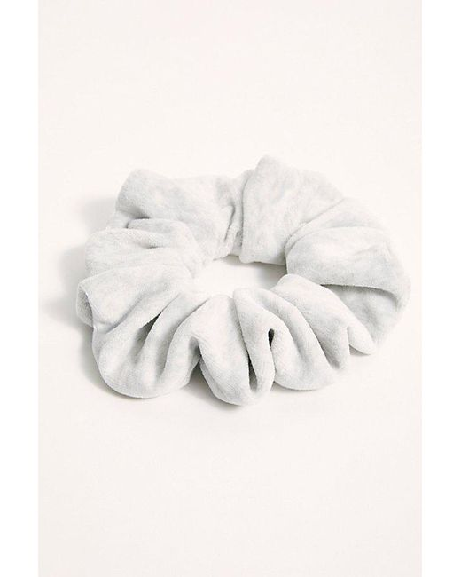 Free People Gray Terry Super Scrunchie