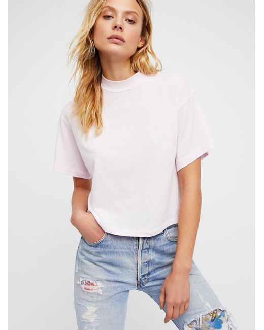 Free People | White Need You Tee | Lyst