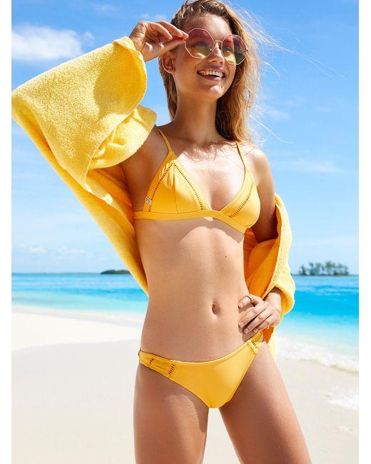 Free People   Orange Island Hop Bikini Bottom Island Hop Bikini Top   Lyst