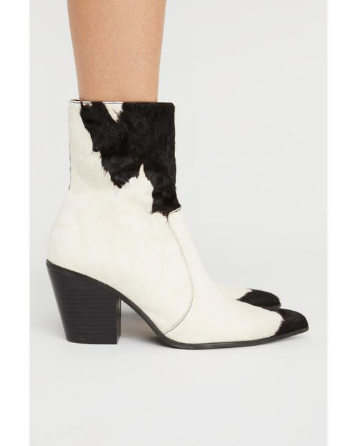 Free People - Blue Weston Ankle Boot By Jeffrey Campbell - Lyst