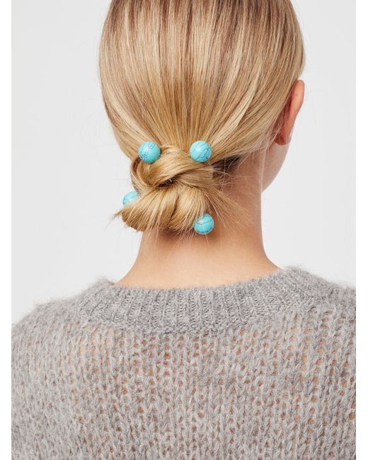 Free People   Multicolor Criss Cross Hair Pins   Lyst