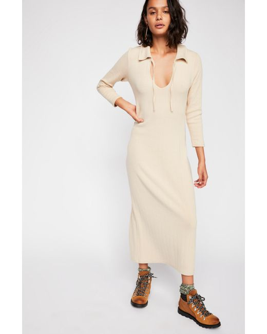 Free People - White Moonlight Maxi Dress By Fp Beach - Lyst