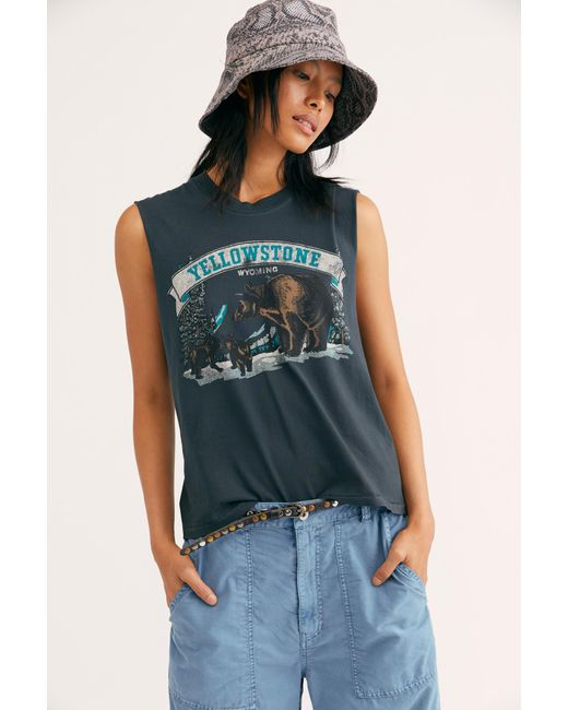 Free People Brand Daydreamers Asymmetrical Top