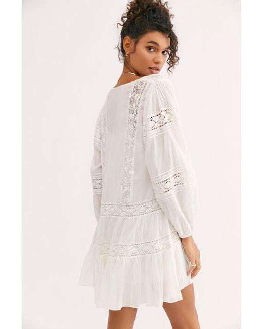601af9c93b5e ... Free People - White Fp One Glow Dress - Lyst ...