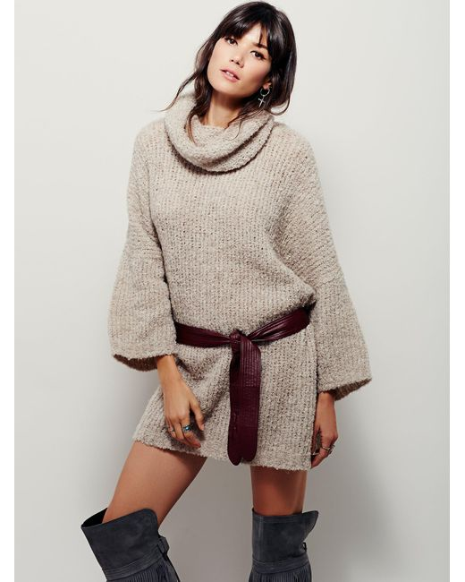 Free People | Natural Extreme Cowl | Lyst