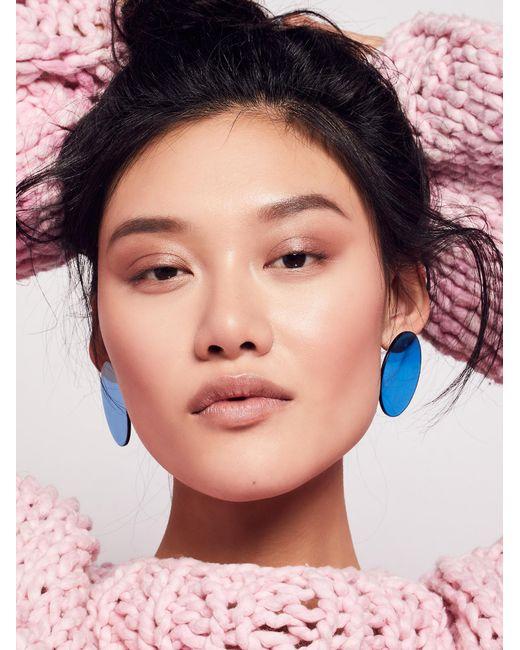 Free People | Multicolor Lucite Mega Earrings | Lyst