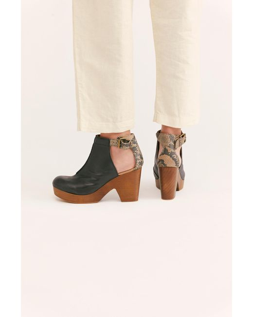 Free People Black Amber Orchard Clog By Fp Collection
