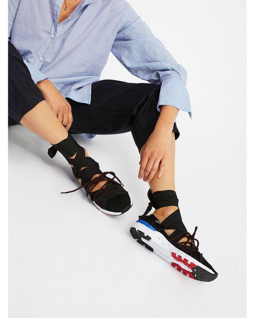 Free People | Black Vegan Zodiac Wrap Sneaker | Lyst