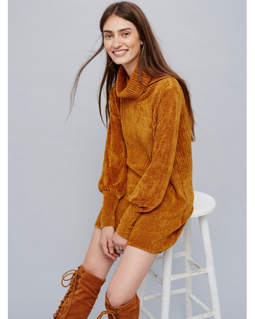 Free People | Multicolor New Moon Chenille Tunic | Lyst