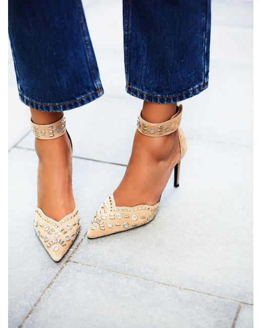 Free People | Multicolor Party Favor Studded Heel | Lyst