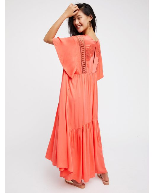 Free people Simply Extreme Maxi Dress in Pink | Lyst