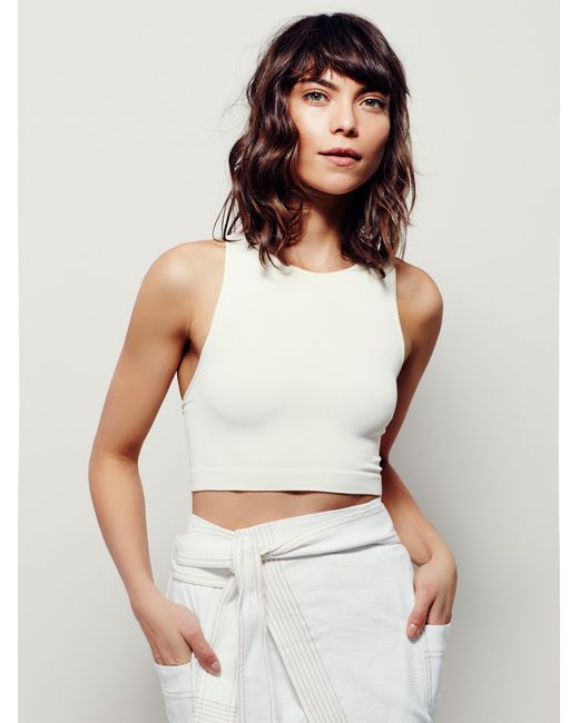Free People | White The City Brami | Lyst
