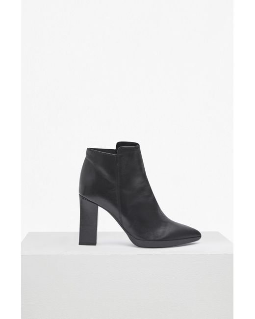 French Connection - Black Reina High Heel Ankle Boots - Lyst