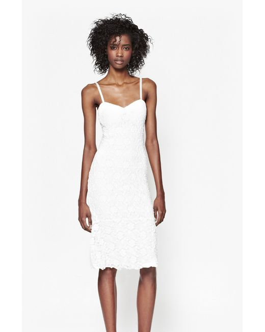 French Connection | Black Manhattan Fold Front Dress | Lyst