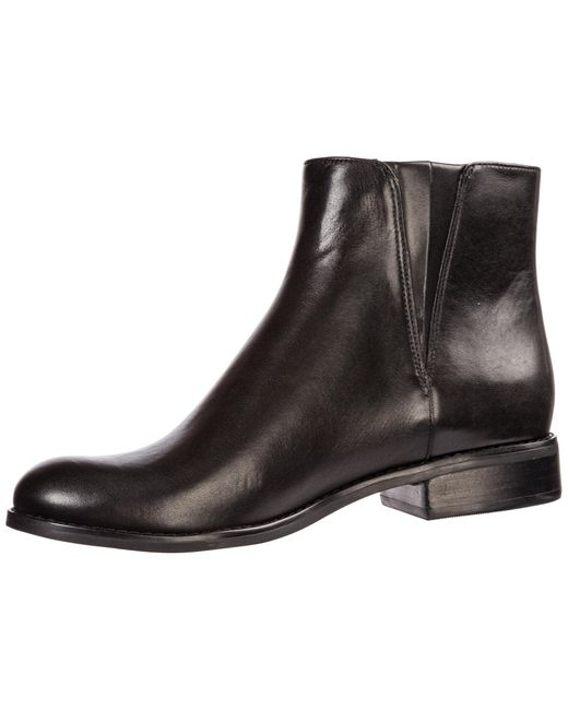 Women's Kors Michael Jaycie Boots In Leather Booties Ankle 8nwmN0