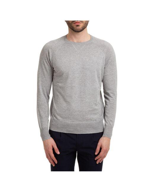 Maglione maglia uomo girocollo di AT.P.CO in Gray da Uomo