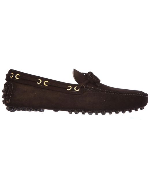 Car Shoe - Brown Suede Loafers Moccasins for Men - Lyst
