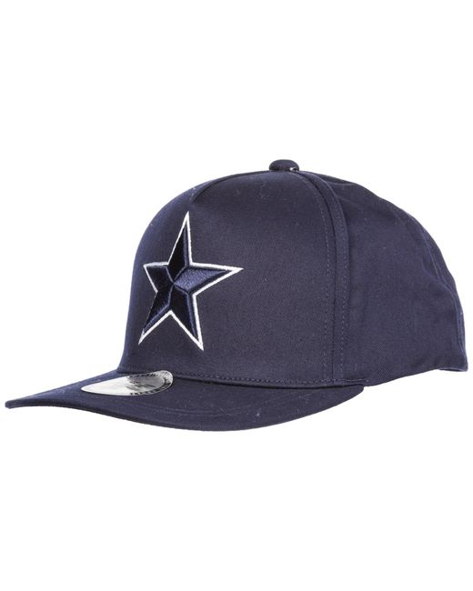 37919dcaf50 Emporio Armani - Blue Adjustable Cotton Hat Baseball Cap for Men - Lyst ...