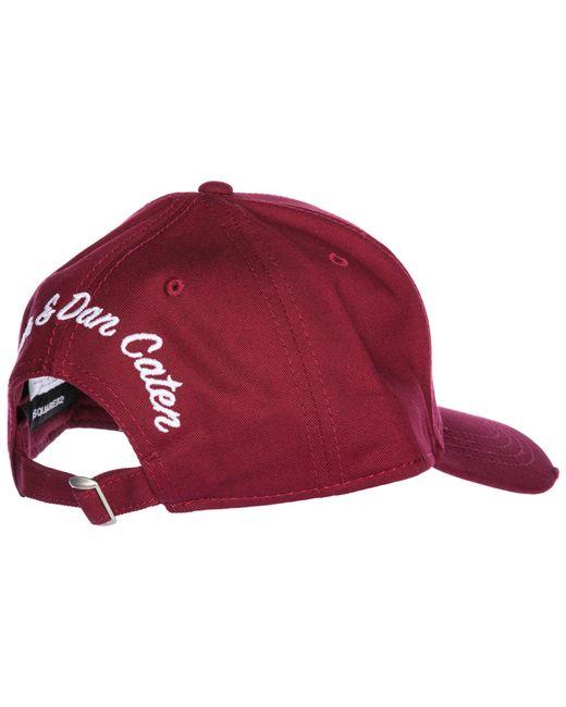 5bf4094f9 DSquared² Adjustable Men's Cotton Hat Baseball Cap Aloha Baseball in ...