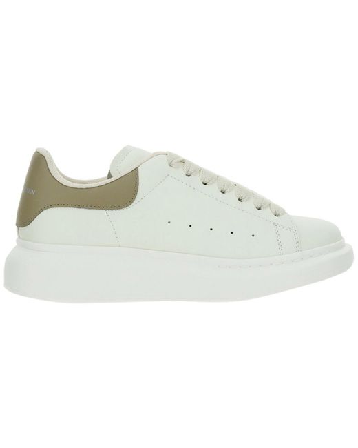 Alexander McQueen Multicolor Women's Shoes Leather Trainers Sneakers