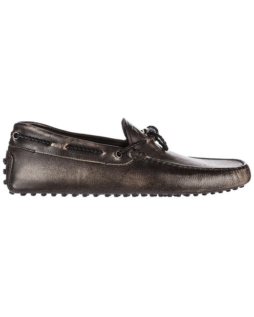 Tod's - Black Leather Loafers Moccasins My Colors New Gommini 122 for Men - Lyst