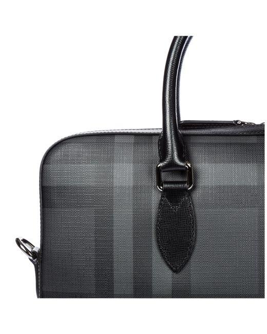 925977d9d94b ... Burberry - Black Briefcase Attaché Case Laptop Pc Bag Hambleton for Men  - Lyst ...