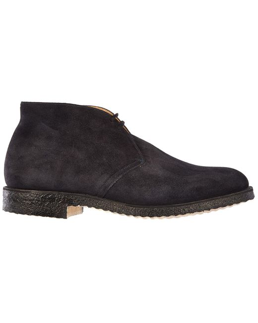 Church's Black Men's Suede Desert Boots Lace Up Ankle Boots Ryder for men